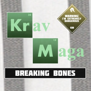 Krav Maga Elements - Breaking Bones - Contrast Hoodie