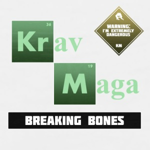 Krav Maga Elements - Breaking Bones - Men's Premium Tank