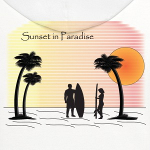 Sunset Surfing (soft) - Contrast Hoodie