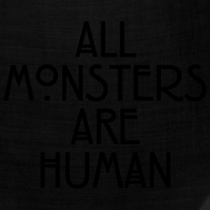 All monsters are human Women's T-Shirts - Bandana