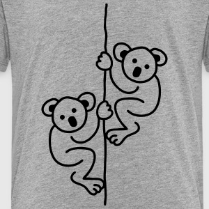 2 Koalas on a Rope Kids' Shirts - Toddler Premium T-Shirt