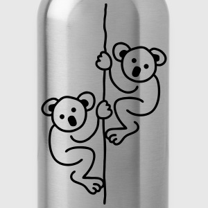 2 Koalas on a Rope T-Shirts - Water Bottle