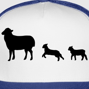 Sheep, lamb, lambs Hoodies - Trucker Cap