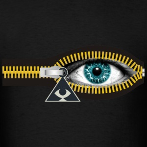 ZIPPER ILLUMINATI - Men's T-Shirt
