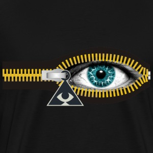 ZIPPER ILLUMINATI - Men's Premium T-Shirt