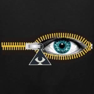 ZIPPER ILLUMINATI - Men's Premium Tank