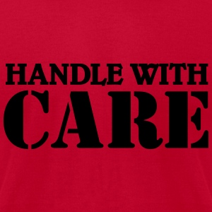 Handle with care Tanks - Men's T-Shirt by American Apparel