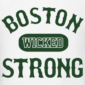BOSTON WICKED STRONG - Men's T-Shirt