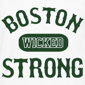 BOSTON WICKED STRONG - Men's Premium Long Sleeve T-Shirt