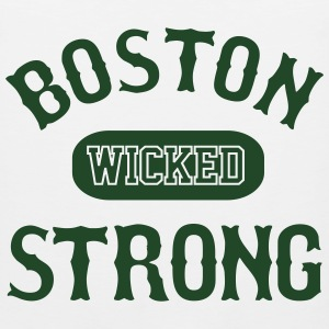 BOSTON WICKED STRONG - Men's Premium Tank