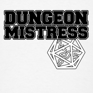 Dungeon Mistress Buttons - Men's T-Shirt
