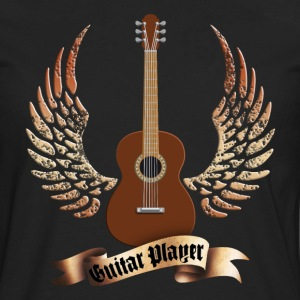 acoustic_guitars_and_wings_052014_a T-Shirts - Men's Premium Long Sleeve T-Shirt