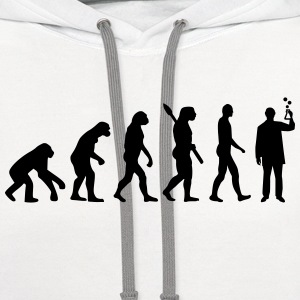 Evolution Chemist T-Shirts - Contrast Hoodie