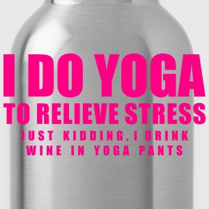 I DO YOGA Long Sleeve Shirts - Water Bottle