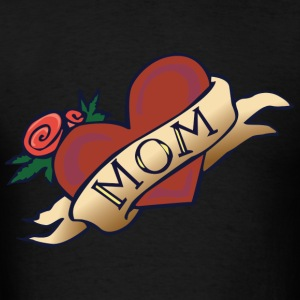 mom in my heart - Men's T-Shirt