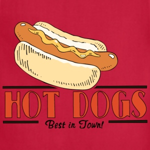 Hot Dog Hoodie - Adjustable Apron