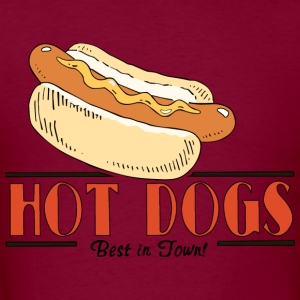 Hot Dog Hoodie - Men's T-Shirt
