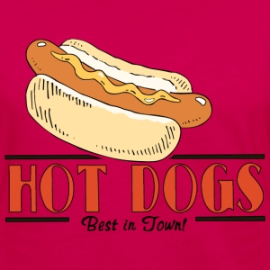 Hot Dog Hoodie - Women's Premium Long Sleeve T-Shirt