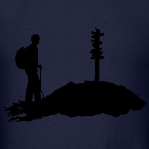 Hiking, Hiker (men) Hoodies - Men's T-Shirt