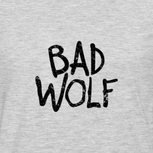 Bad Wolf - Doctor Who  | Robot Plunger - Men's Premium Long Sleeve T-Shirt