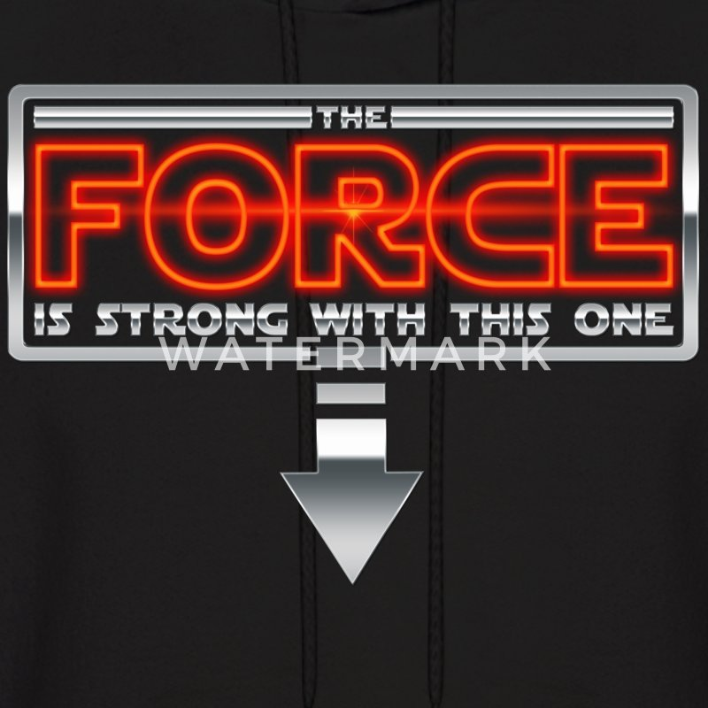 The Force is strong with this one 2AR Hoodies - Men's Hoodie