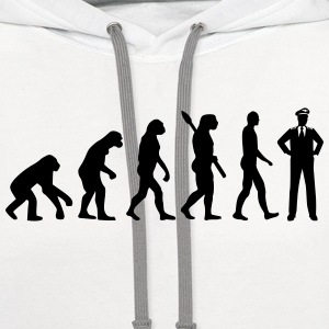Evolution Pilot T-Shirts - Contrast Hoodie