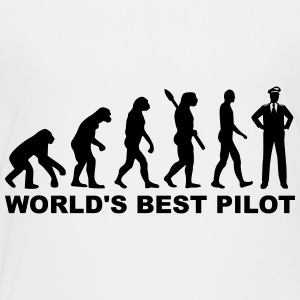 World's Best Pilot Kids' Shirts - Toddler Premium T-Shirt