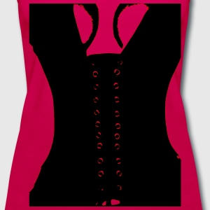 Medieval Sexy Warrior Women Costume corset  T-Shirts - Women's Premium Tank Top