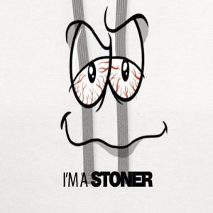 Im A Stoner.png T-Shirts - Contrast Hoodie