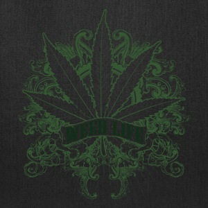 7 Weed Design - Green T-Shirts - Tote Bag