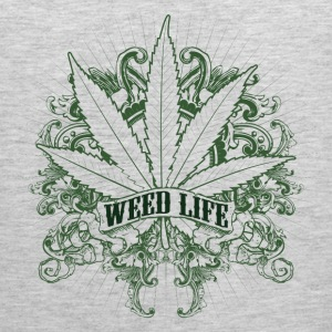 7 Weed Design - Green T-Shirts - Men's Premium Tank
