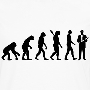Evolution Engineer T-Shirts - Men's Premium Long Sleeve T-Shirt