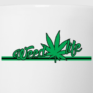 18 WeedLife Horizontal - Green Women's T-Shirts - Coffee/Tea Mug