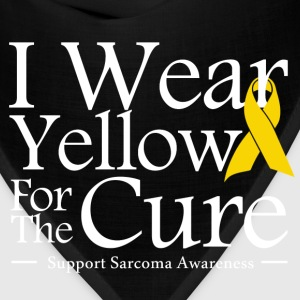 i_wear_yellow_for_the_cure T-Shirts - Bandana