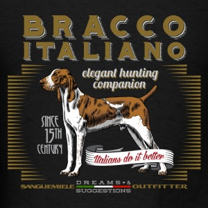 bracco italiano elegant Hoodies - Men's T-Shirt