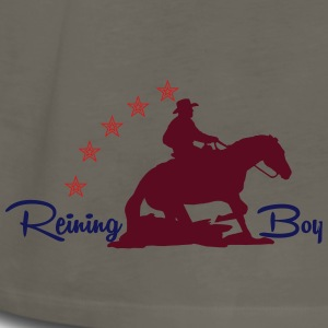 Westernriding - Reining Boy T-Shirts - Men's Premium Long Sleeve T-Shirt