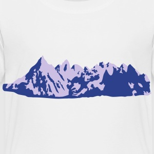 Mountains, Mountain Kids' Shirts - Toddler Premium T-Shirt