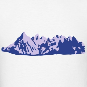Mountains, Mountain Hoodies - Men's T-Shirt