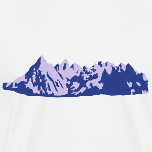 Mountains, Mountain Hoodies - Men's Premium T-Shirt