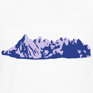Mountains, Mountain Hoodies - Men's Premium Long Sleeve T-Shirt