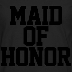 Maid of Honor Hoodies - Men's Premium Long Sleeve T-Shirt