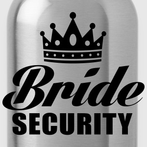 Bride Security T-Shirts - Water Bottle