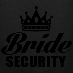 Bride Security Long Sleeve Shirts - Men's Premium Tank