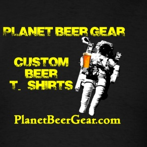 Planet Beer Gear Astronaut Logo Women's Hoodie (Do - Men's T-Shirt