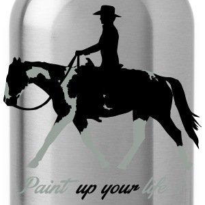 Paint Horse -- Paint up your  Zip Hoodies & Jackets - Water Bottle