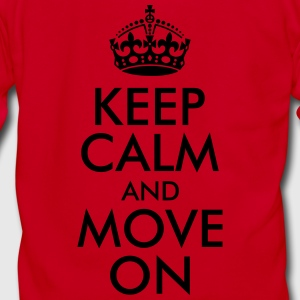 Keep Calm and Move On Women's T-Shirts - Unisex Fleece Zip Hoodie by American Apparel