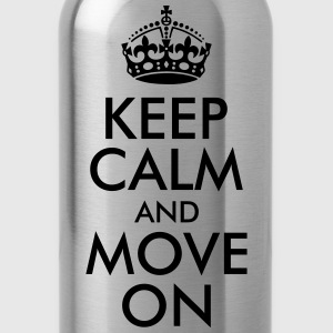 Keep Calm and Move On Women's T-Shirts - Water Bottle