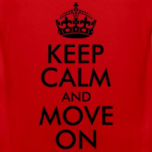 Keep Calm and Move On Women's T-Shirts - Men's Premium Tank