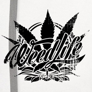Weed Life Products - Contrast Hoodie