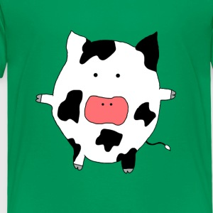 Funky Moo Cow - Toddler Premium T-Shirt